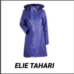 TAHARI Light Lavender Trench Rain Coat